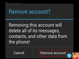 android remove account how to remove email accounts gmail ymail from gmail app in
