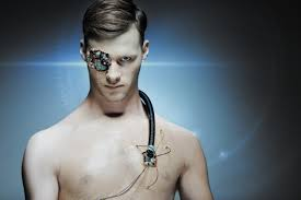 cyborg terminator halloween makeup tutorial by ellimacs