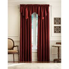 Cream Embroidered Curtains Curtains With Attached Valances