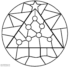 mandala coloring pages google coloring christmas