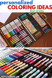 personalized coloring ideas for kids with crayola my way