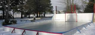 Hockey Rink In Backyard by Backyard Rink U2013 Backyard Ice Rinks Rink Liners U0026 Kits