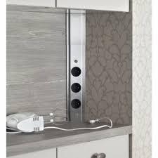 multiprise d angle cuisine bloc prises d angle sous meuble haut accessoires cuisines