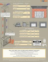 Best Gas Insert Fireplace by Direct Vent
