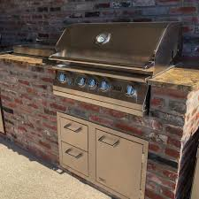 Outdoor Kitchens Arizona Lion 32 Inch Stainless Steel Built In Natural Gas Grill Bbq Guys