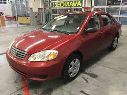 used 2003 toyota corolla ce in cowansville used inventory