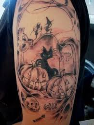 halloween pumpkin tattoo tattoos pinterest