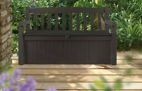 amazon 70 gallon outdoor patio storage bench only 68 99 shipped