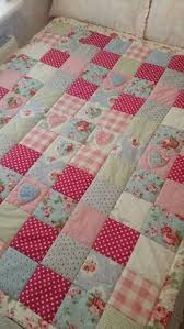 shabby chic quilts cath kidston shabby chic patchwork cot or bed