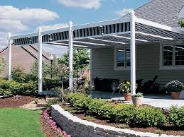 Backyard Shade Canopy by Residential Retractable Canopies And Shade Canopies Shadetree