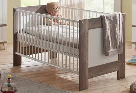 otto babyzimmer babybett zur babymöbelserie in wildeiche trüffel weiß