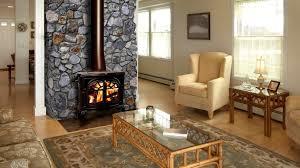 luxury corner fireplace designs with stone