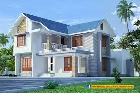 kerala home design facebook sloped roof kerala home design home building plans 52087