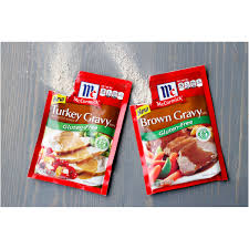 mccormick gluten free turkey gravy mix 0 88 oz walmart com