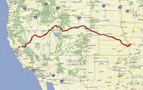 Rubicon Trail Map California Or Bust An Epic Trek Across The California Emigrant Trail