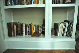 White Built In Bookcases by Furniture 20 Great Photos Diy Built In Bookshelves Ideas Diy