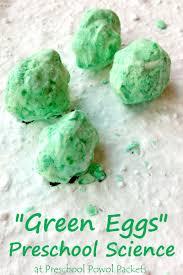 fizzing green eggs science for preschool preschool powol packets