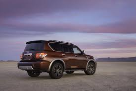 nissan platinum 2017 2017 nissan armada shares body on frame chassis with the patrol