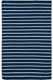 Stripe Indoor Outdoor Rug Navy Stripe Indoor Outdoor Rug Cottage Home