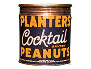 Planters Cocktail Peanuts by Heinz Planters Through Time