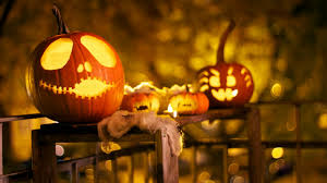 halloween desktop background themes free jack o lantern wallpaper