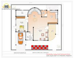 indian house designs andor plans duplex plan elevation sq ft