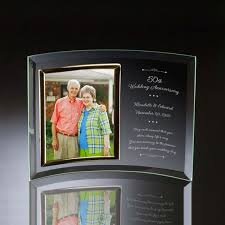 wedding anniversary plaques wedding anniversary curved glass vertical 8x10 photo frame