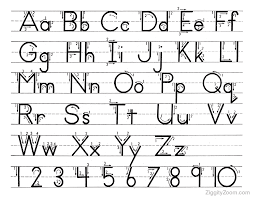 alphabet handwriting worksheets for kindergartencrystal hoffman