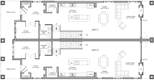 duplex floor plan 2 new construction denver