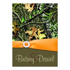 camo wedding invitations camo wedding invitations announcements zazzle