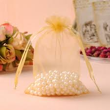 organza gift bags 25x35cm gold organza gift bags 50pcs lot large organza fabric gift