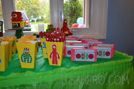 Yo Gabba Gabba Party Ideas by Baby Ari U0027s Yo Gabba Gabba 1st Birthday Bash