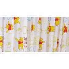 Nursery Curtains Uk by Childrens Kids Disney Winnie The Pooh Curtains Set 66 X 54 Inch