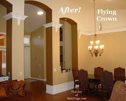 before u0026 after the secret to installing crown molding on a