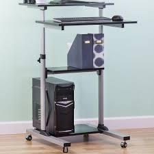 Locus Standing Desk Hutch Standing U0026 Height Adjustable Desks You U0027ll Love Wayfair