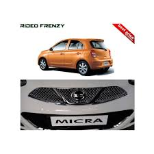 nissan micra india price premium glossy finish nissan micra front chrome grill at low