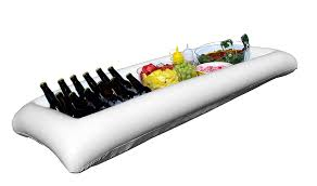 amazon com large white inflatable serving bar buffet cooler with