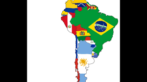Map Of South American Countries Flag Map Of South America Countries Youtube