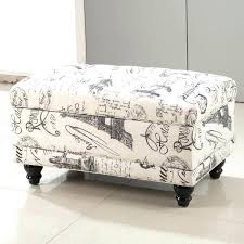 Ottoman Storage Bench Off White Leather Tufted Storage Bench Ottoman U2013 Keepcalm Me