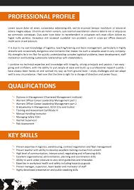 logistician resume resume cv cover letter