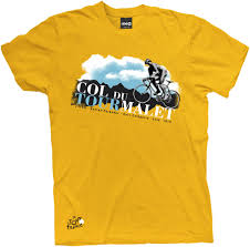 yellow bicycle t shirt shopping cart catalog demo product page