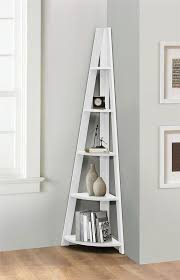 Corner Ladder Bookcase Birlea Nordic Scandinavian Retro Corner Ladder Bookcase Shelf Unit