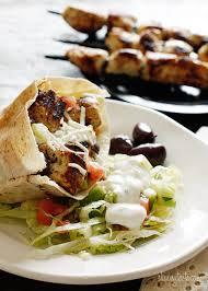 mediterranean chicken kebab salad skinnytaste