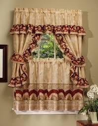 Sunflower Curtains Kitchen by Amazon Com Achim Home Furnishings Sunflower Cottage Set 36 Inch
