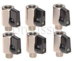 amazon com carpet cleaning shut off mini ball valves 1 4