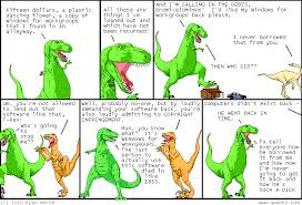 dinosaur comics june 3rd 2010 awesome times