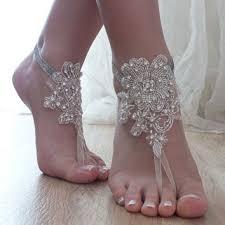 wedding barefoot sandals white wedding barefoot sandals from byvivienn on etsy