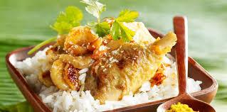 cuisine cr駮le facile poulet créole à la banane facile recette sur cuisine actuelle