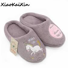 bedroom slippers for men new year cute unicorn slippers women s house shoes for indoor