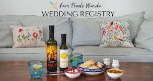 fair trade wedding registry fair trade registry fair trade winds